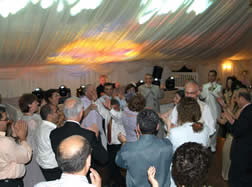 Best Wedding Disco Party Essex at The Talbooth Essex