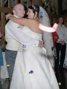 Channels Golf Club Chelmsford Essex Wedding Disco Bride and groom
