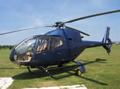 Try flying in a helicopter for your wedding day surprise